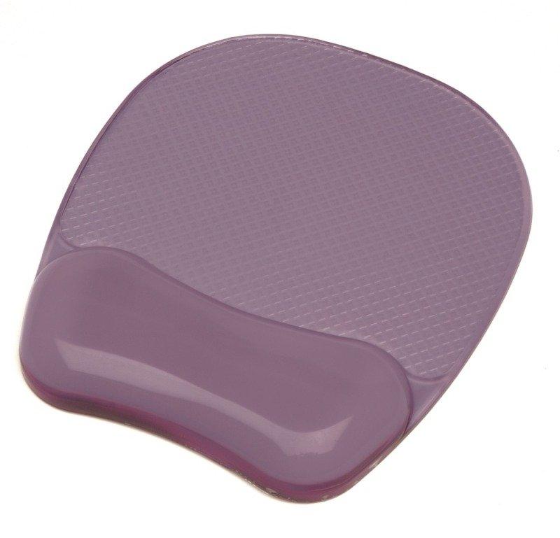 Fellowes Crystal Gel Mouse Pad - Purple