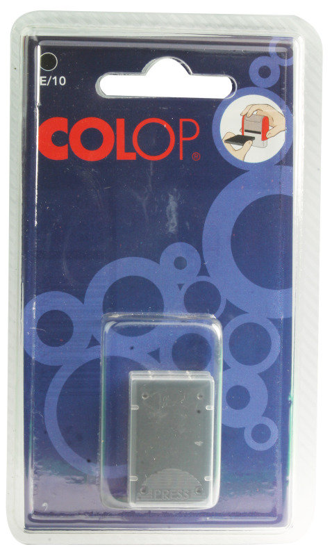Image of COLOP E/10 REP PADS BLACK PACK2