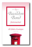 Basildon Bond Envelope Small Wht Pk20 - 10 Pack