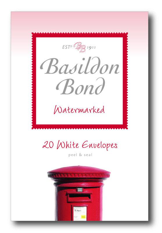 Image of Basildon Bond Envelope Small Wht Pk20 - 10 Pack