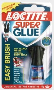 Loctite Super Glue with Brush - 5g Bottle