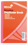 Silvine Dup Book 8.3x5 Invoice 611 - 6 Pack