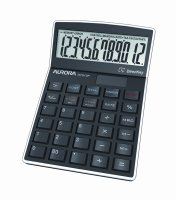 Aurora DT910P Desk Calculator - Black
