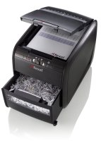 Rexel Auto+ 60X Cross Cut Shredder Black