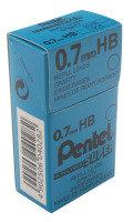 Pentel Leads 0.7mm Tube12 Hb 50 - 12 Pack