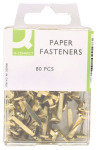 Q Connect Paper Fastener 17mm Pk80 - 10 Pack