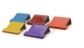 Rapesco Supaclip® 40 Multi Coloured Refill Clips