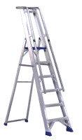 Aluminium Step Ladder with Platform - 7 Steps