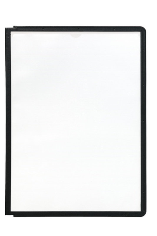 Sherpa Display Panel A4 Black 5606/01 - 10 Pack