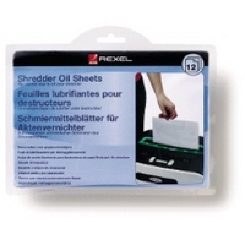 Rexel Shredder Oil Sheets - 12 Pack