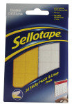 SELLOTAPE STICKY HOOK AND LOOP PAD WLT24