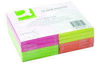 Q Connect Quick Sticky Note 125x75mm  Ne - 12 Pack
