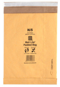 MAIL LITE PADDED 264X374MM PK50 MLPBH5