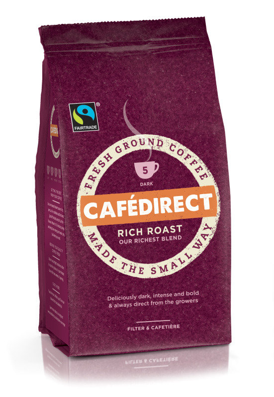 Cafedirect Rich Roast Blend Ground Coffee 227g