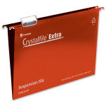 Crystalfile Extra Fc Red Pk25 70629
