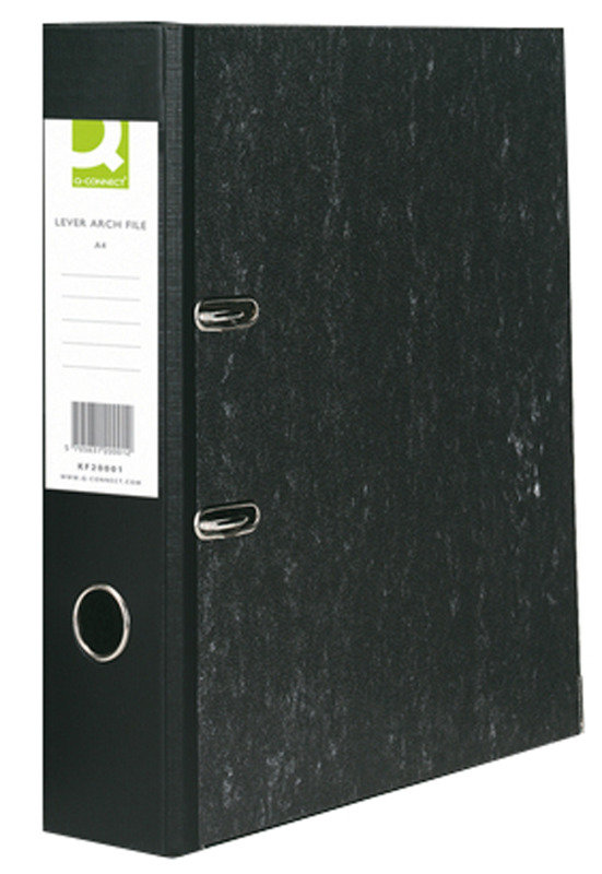 Q Connect A4 Lever Arch File - 10 Pack