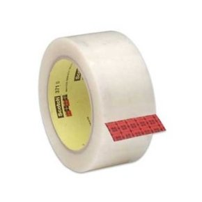 Scotch Packaging Tape Pp 50mmx66m Clear - 6 Pack
