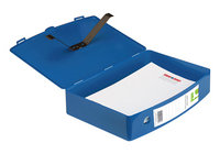 Q CONNECT BOXFILE POLYPROPYLENE BLUE