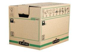 Fellowes R-Kive Transit Small Moving Box - 5 Pack