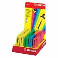STABILO HIGHLIGHTER DISPLAY 40PCS ASST