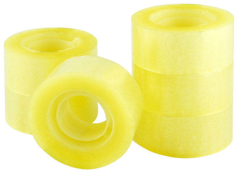 Q Connect Easytear Pp Tape 24mmx33M - 6 Pack