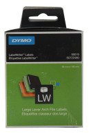 Dymo White Large Lever Arch File Label 60x190mm (110 Pack)