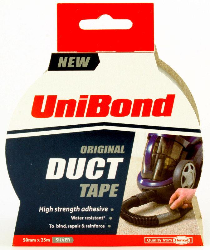 Unibond 50mmx25m Silver