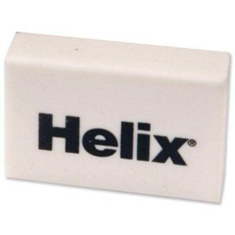 Image of HELIX ECONOMY WHITE ERASER Y92040