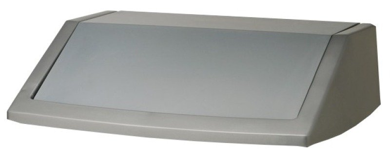 Image of ADDIS 54L FLIP TOP BIN LID METALLIC