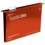 Crystalfile Ext 30mm Fc Red Pk25 70632