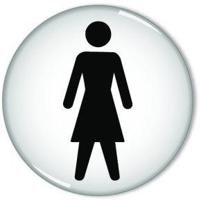 SIGNSLAB 60MM WOMEN SYMBOL