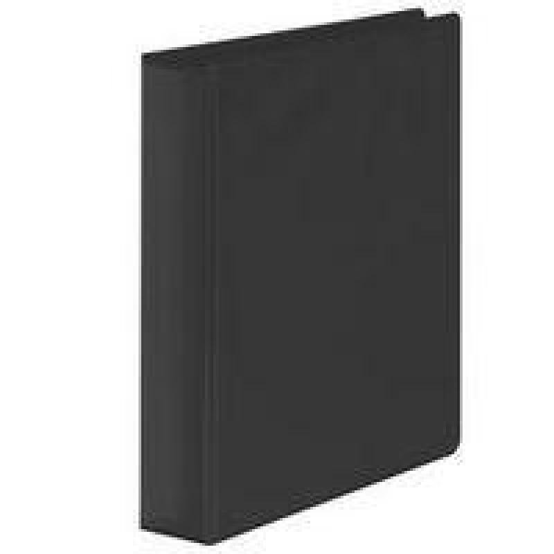 Wb Pres Binder 4 D Ring Black 25mm - 10 Pack