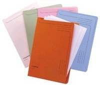 Guildhall Slipfile 12.5x9in Assorted 50 Pack