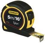 Stanley Bi-Material Measuring Tape - 5m