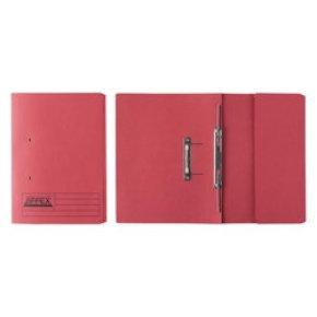 El Jiffex Pocket File Fcp Red 43318 - 25 Pack