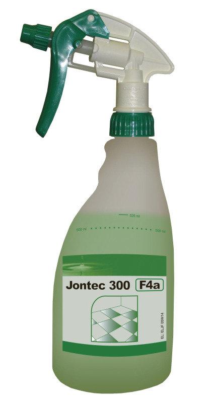 Image of Diversey 500ml TASKI Jontec 300 Pur-Eco Spray Floor Cleaner Refill Trigger Spray Bottle (Pack of 5)
