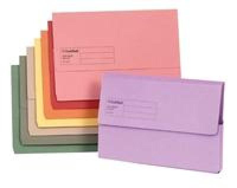 Guildhall Doc Wallet Blue Angel Pink - 50 Pack