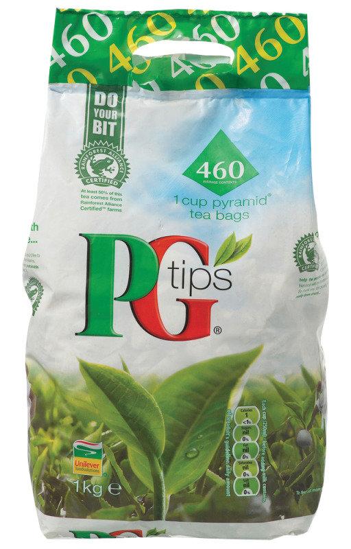 PG Tips Pyramid Tea Bags - 460 Pack