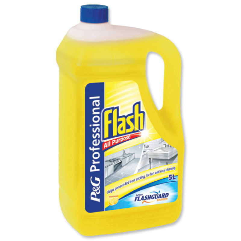 Image of FLASH LEMON APC 5 LITRE 5413149200111