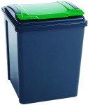VFM Green/Grey Recycling Bin 50 Litre