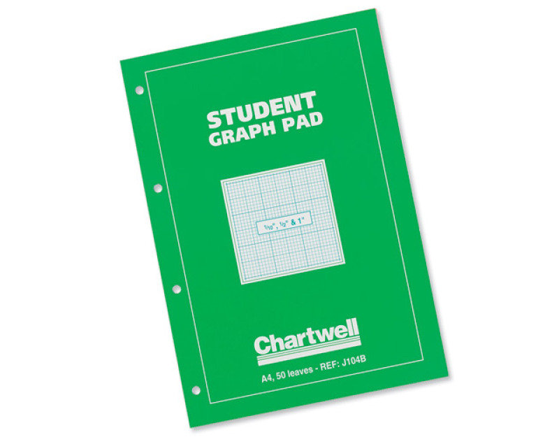 Image of Chartwell Graph Pad A4 Green