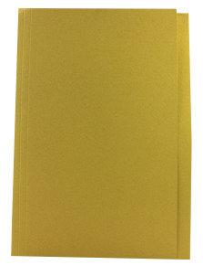 Guildhall Squarecut Folder 270gm Yellow - 100 Pack