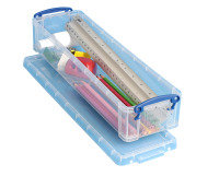 REALLY USEFUL PENCIL/STAT BOX 1.5L CLEAR