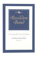 Basildon Bond Small Envelope Blue Pk20 - 10 Pack