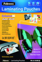 Fellowes Super Quick Laminating Pouches A4 100 Pack