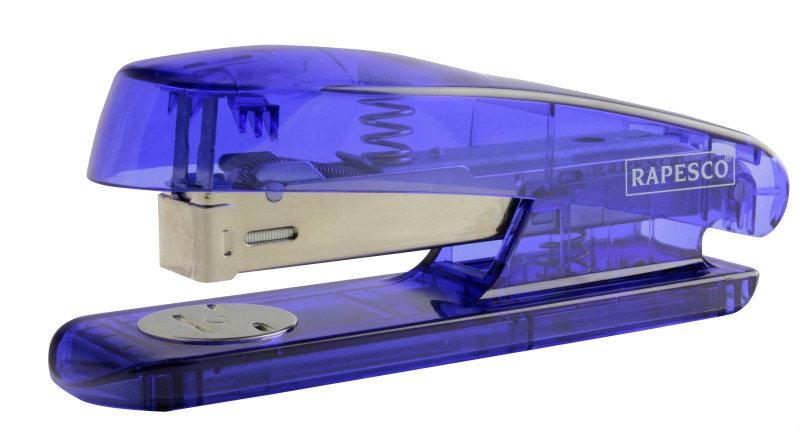 Rapesco Puffa Sea-Thru Half Strip Stapler (Transparent)