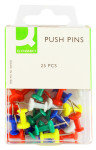 Q Connect Push Pins - 250 Pack