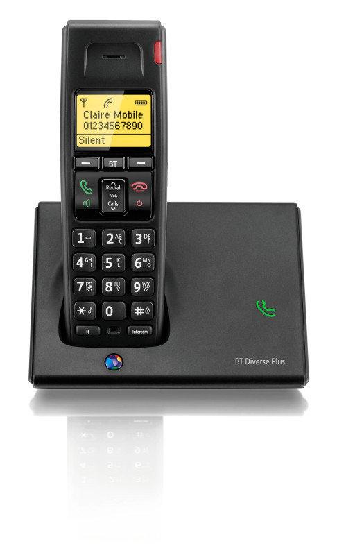 BT Diverse 7110 Plus Dect Telephone - Single