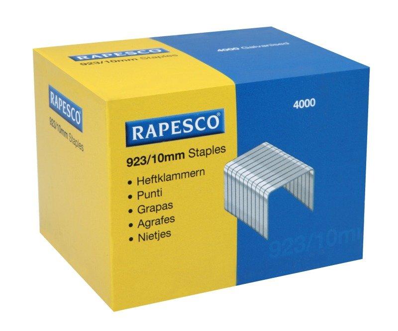 Rapesco 923 10mm Staples - 4000 Pack