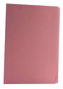 Guildhall  Squarecut Folder 270gm Pink - 100 Pack